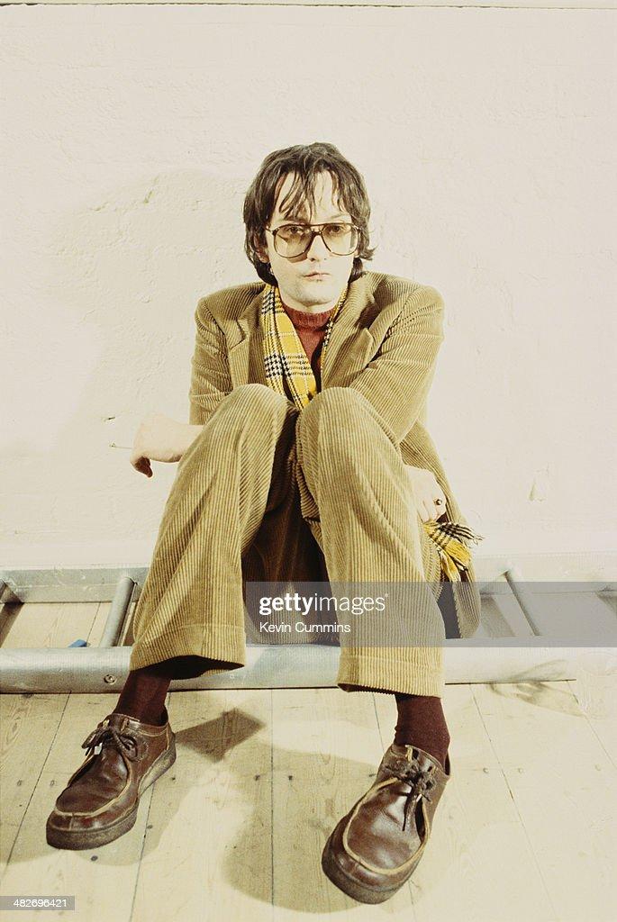 Singer-songwriter Jarvis Cocker of British pop group Pulp, 1997.