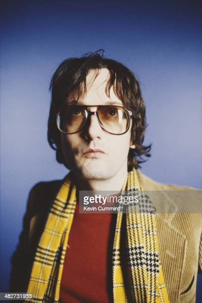 Singersongwriter Jarvis Cocker of British pop group Pulp 1997