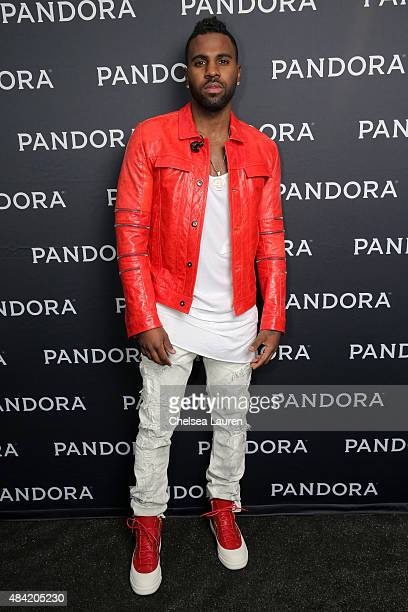 Singer/songwriter Jason Derulo attends PANDORA SUMMER CRUSH 2015 at LA LIVE on August 15 2015 in Los Angeles California