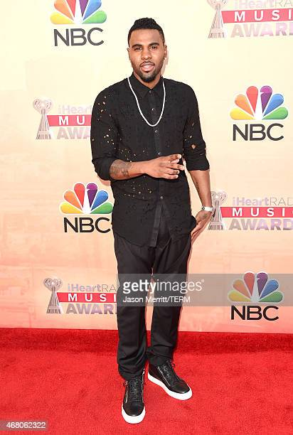 Singer/songwriter Jason Derulo attends the 2015 iHeartRadio Music Awards which broadcasted live on NBC from The Shrine Auditorium on March 29 2015 in...