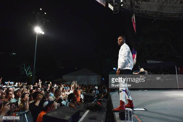 Singersongwriter Jason Derulo performs onstage during OZY FEST 2017 Presented By OZYcom at Rumsey Playfield on July 22 2017 in New York City