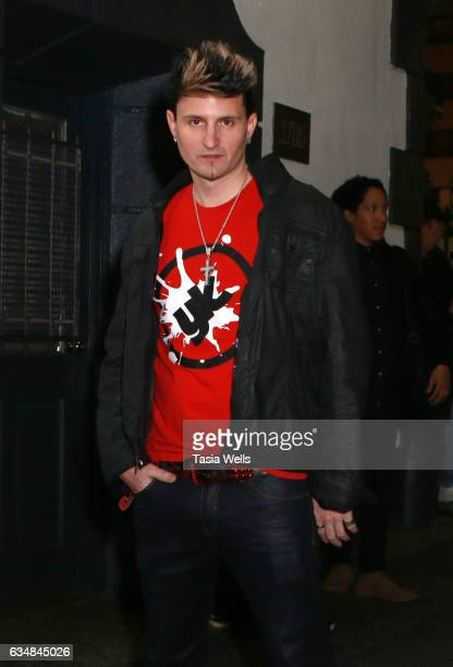 Singersongwriter Jaysin Voxx attends Rock Your Hair presents 'Valentine's Rocks' at The Avalon Hotel on February 11 2017 in Los Angeles California