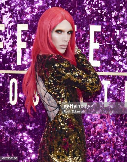 Singersongwriter Jeffree Star poses for portrait at the 3rd annual RuPaul's DragCon at Los Angeles Convention Center on April 30 2017 in Los Angeles...