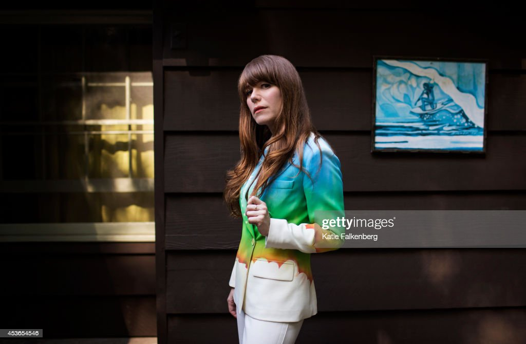 Singer/songwriter Jenny Lewis is photographed for Los Angeles Times on June 30, 2014 in Studio City, California.