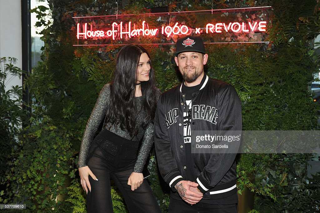 Singer-songwriter Jessie J and singer Joel Madden attend House of Harlow 1960 x REVOLVE on June 2, 2016 in Los Angeles, California.