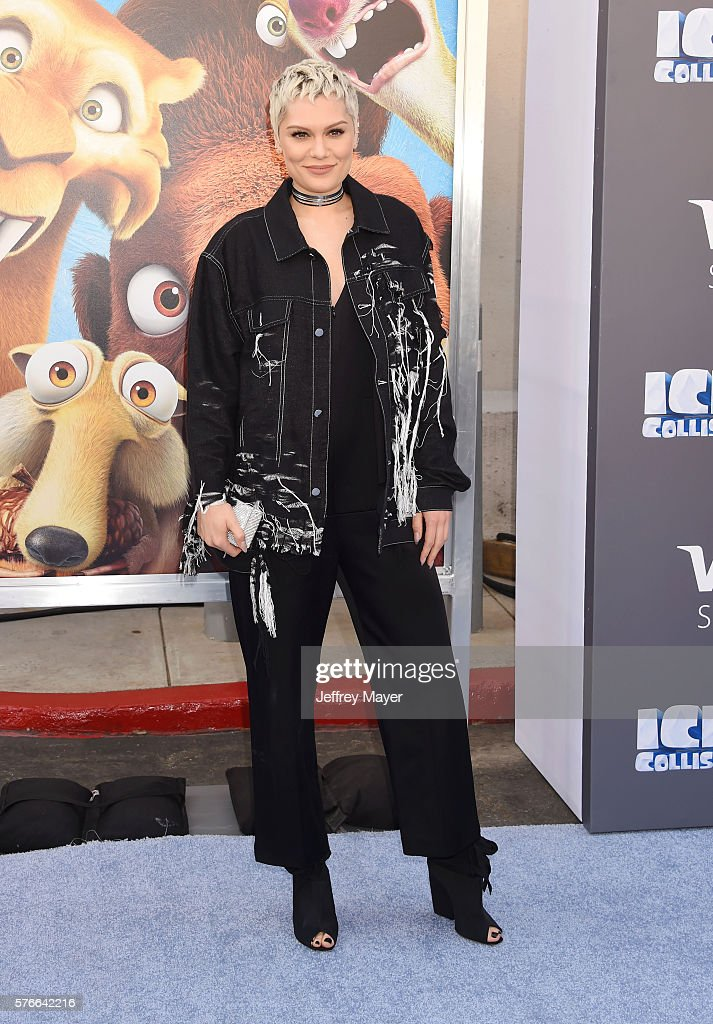 Singer/songwriter Jessie J attends a screening of 'Ice Age Collision Course' at Zanuck Theater at 20th Century Fox Lot on July 16 2016 in Los Angeles...