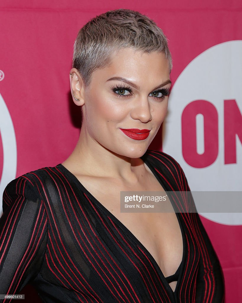 Singer/songwriter <a gi-track='captionPersonalityLinkClicked' href=/galleries/search?phrase=Jessie+J&family=editorial&specificpeople=5737661 ng-click='$event.stopPropagation()'>Jessie J</a> attends ONE and (RED)'s 'It Always Seems Impossible Until It Is Done' event held at Carnegie Hall on December 1, 2015 in New York City.