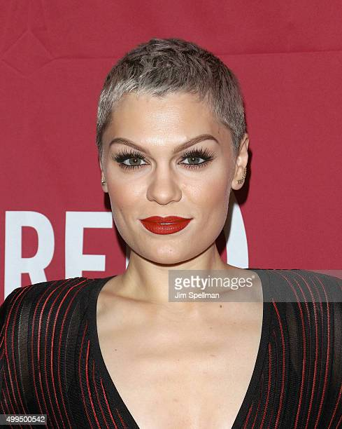 Singer/songwriter Jessie J attends the ONE And 's 'It Always Seems Impossible Until It Is Done' at Carnegie Hall on December 1 2015 in New York City