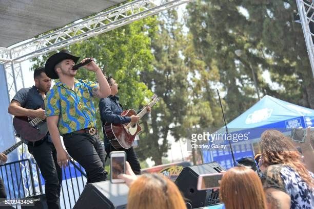 """Singersongwriter Jesus Mendoza partnered with the brand that's famous among friends to celebrate """"Hecho en Los Angeles"""" Bud Light's new campaign..."""