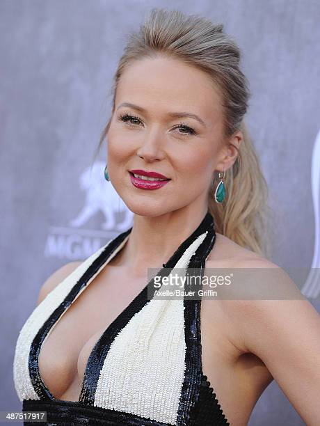 Singer/songwriter Jewel arrives at the 49th Annual Academy of Country Music Awards at the MGM Grand Hotel and Casino on April 6 2014 in Las Vegas...