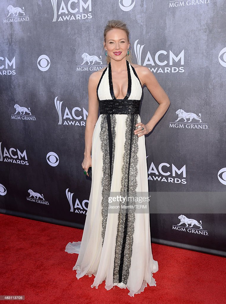 Singer/songwriter Jewel attends the 49th Annual Academy Of Country Music Awards at the MGM Grand Garden Arena on April 6 2014 in Las Vegas Nevada