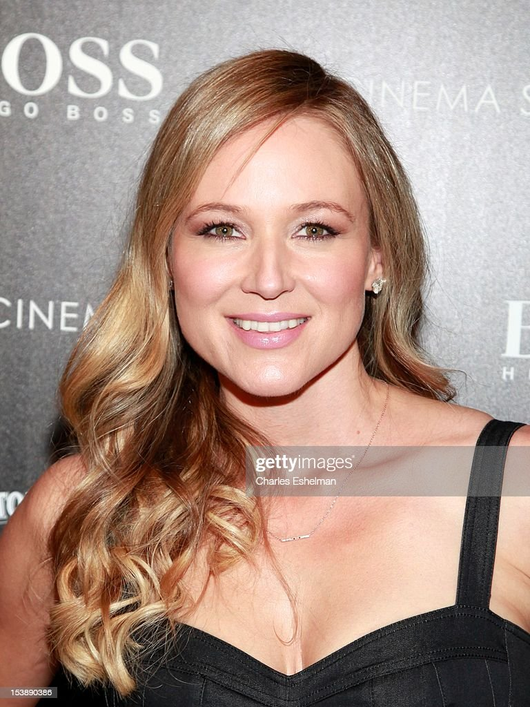 Singer/songwriter Jewel attends The Cinema Society with Hugo Boss and Appleton Estate screening of 'Seven Psychopaths' at Clearview Chelsea Cinemas on October 10, 2012 in New York City.