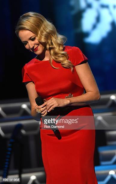Singersongwriter Jewel performs during the CMA 2015 Country Christmas on November 7 2015 in Nashville Tennessee