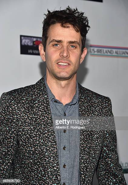 Singersongwriter Joey McIntyre attends the USIreland Aliiance's Oscar Wilde Awards event at JJ Abrams' Bad Robot on February 19 2015 in Santa Monica...