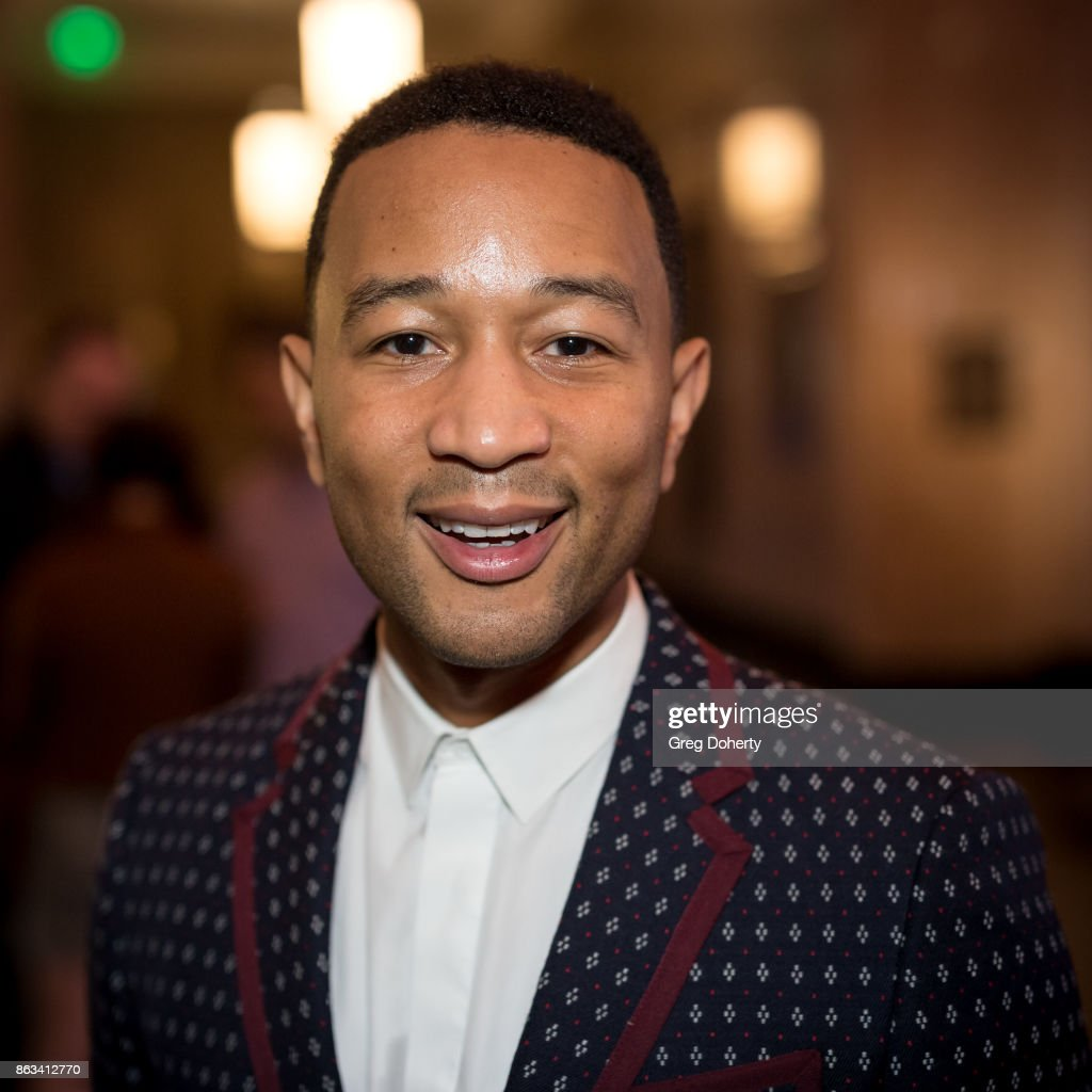 Singer-songwriter John Legend Attends 'Turn Me Loose' at Wallis Annenberg Center for the Performing Arts on October 19, 2017 in Beverly Hills, California.