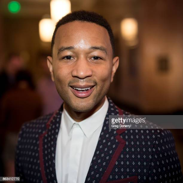 Singersongwriter John Legend Attends 'Turn Me Loose' at Wallis Annenberg Center for the Performing Arts on October 19 2017 in Beverly Hills California