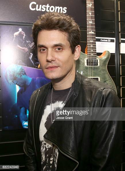 Singersongwriter John Mayer attends the 2017 NAMM Show at the Anaheim Convention Center on January 20 2017 in Anaheim California