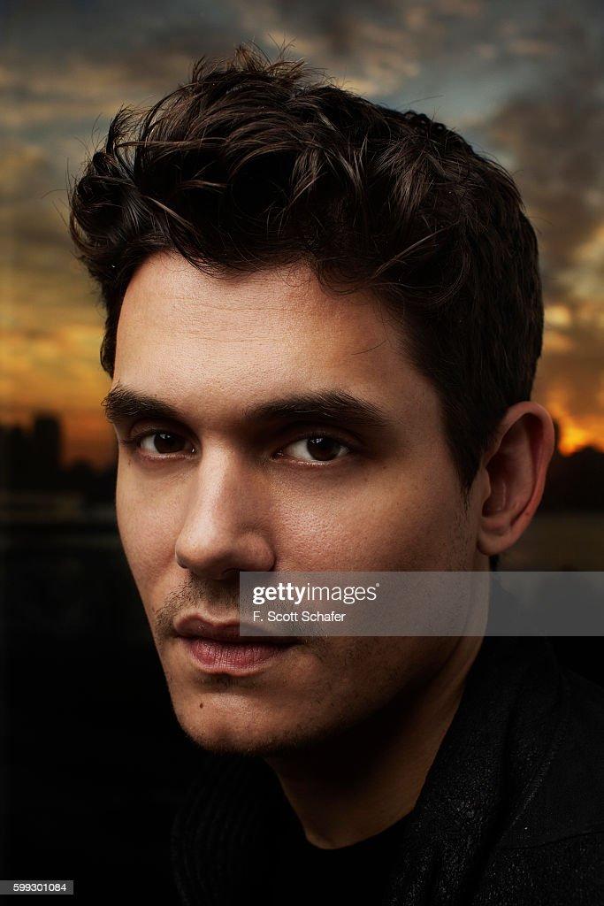 Singer/songwriter John Mayer is photographed for Guitar World on November 20, 2009 in New York City.