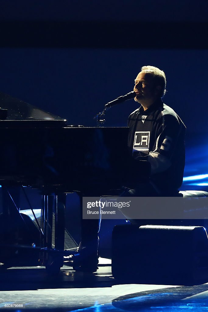 Singer-songwriter John Ondrasik performs during the NHL 100 presented by GEICO Show as part of the 2017 NHL All-Star Weekend at the Microsoft Theater on January 27, 2017 in Los Angeles, California.