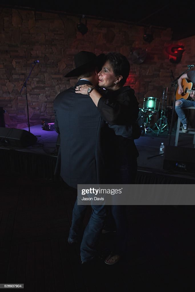 Singer/songwriter John Rich and Nancy Jones, wife of the late George Jones dance at the George Jones Museum to celebrate top fundraising St. Jude Heroes for the 17th annual St. Jude Rock 'n' Roll Nashville Marathon on May 1, 2016 in Nashville, Tennessee.