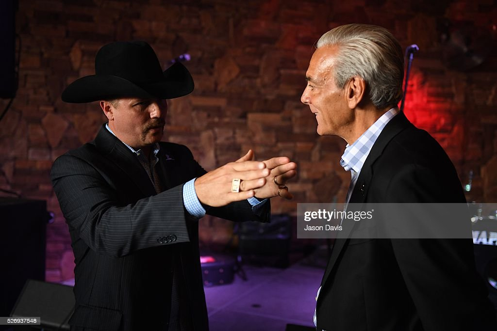 Singer/Songwriter John Rich and Rick Shadyac, President and CEO of ALSAC, the fundraising and awareness organization for St. Jude Children's Research Hospital, gather at the George Jones Museum to celebrate top fundraising St. Jude Heroes for the 17th annual St. Jude Rock 'n' Roll Nashville Marathon on May 1, 2016 in Nashville, Tennessee.