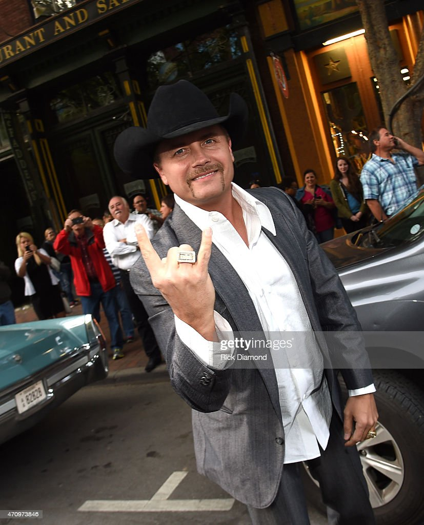 Singer/Songwriter John Rich (Big and Rich) attends Recording Artist and Legend George Jones Museum Grand Opening on April 23, 2015 in Nashville, Tennessee.