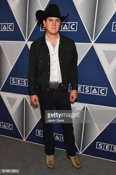 Singersongwriter Jon Pardi arrives at the 2017 SESAC Nashville Music Awards on November 5 2017 in Nashville Tennessee