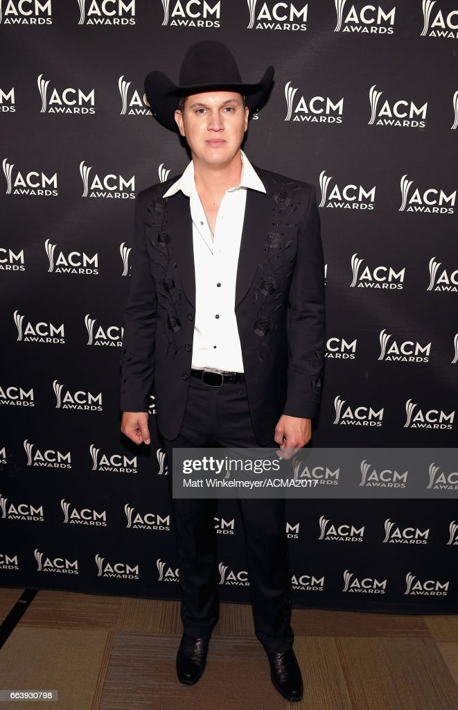 Singer-songwriter Jon Pardi at the ACM Awards Official After Party at the Park Theater on April 2, 2017 in Las Vegas, Nevada.