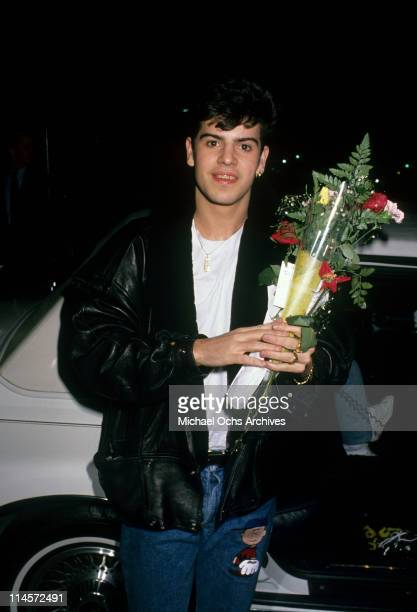 Singersongwriter Jordan Knight of New Kids On The Block Los Angeles California 1990