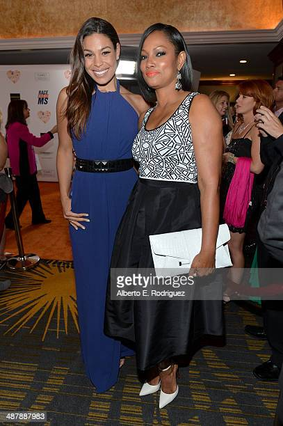 Singersongwriter Jordin Sparks attends the 21st annual Race to Erase MS at the Hyatt Regency Century Plaza on May 2 2014 in Century City California