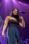 Singer/songwriter Jordin Sparks performs onstage at Keep Memory Alive's 20th Annual Power Of Love Gala at the MGM Grand Garden Arena on May 21 2016...