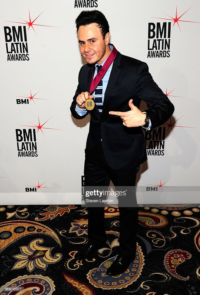 Singer/songwriter Jose Luis Roma arrives at the BMI;s 20th Annual Latin Music Awards at the Bellagio on March 21, 2013 in Las Vegas, Nevada.