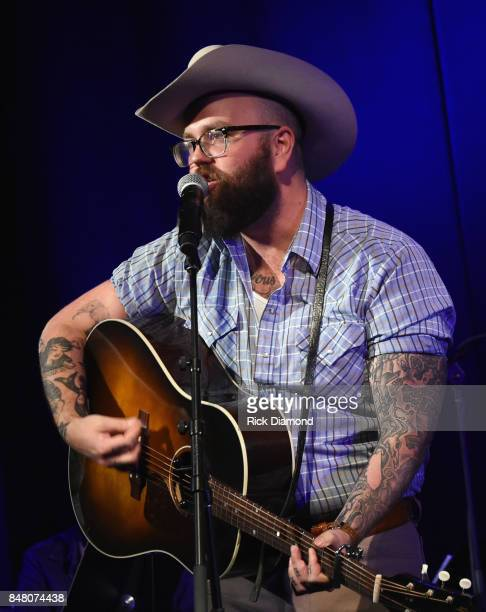 Singer/Songwriter Josh Hedley performs during 18th Annual Americana Music Festival Conference Mike Judge Presents Tales From The Tour Bus Series...