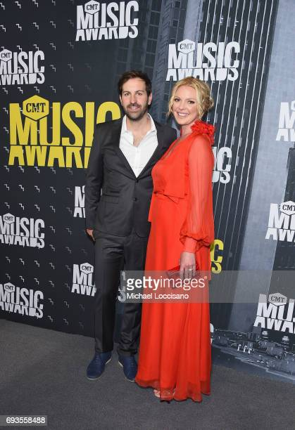 Singersongwriter Josh Kelley and actress Katherine Heigl attend the 2017 CMT Music Awards at the Music City Center on June 7 2017 in Nashville...