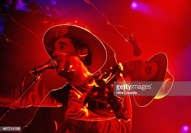 Singer/songwriter Joshua Radin performs at Irving Plaza during Little Kids Rock On Tour with Joshua Radin on March 21 2015 in New York City