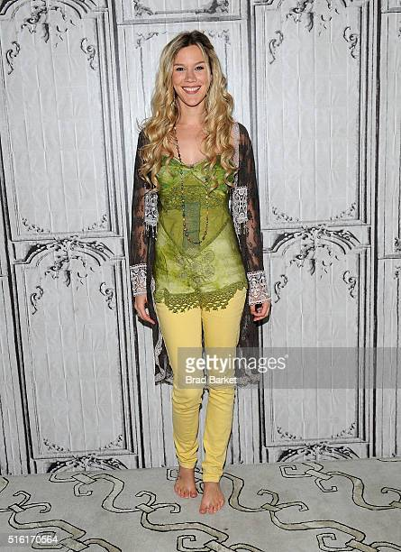 Singersongwriter Joss Stone attends AOL Build Presents 'Water for Your Soul' at AOL Studios In New York on March 17 2016 in New York City
