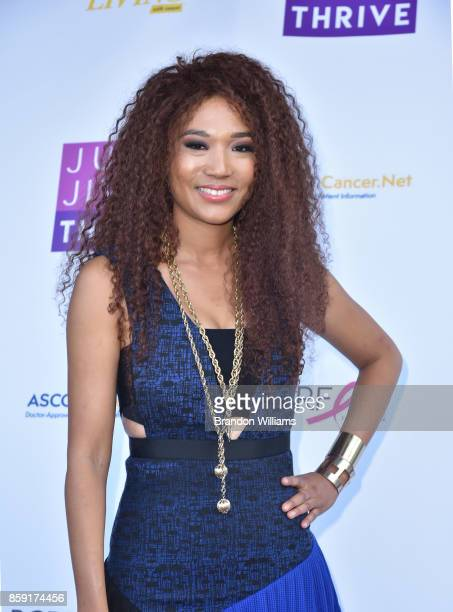 Singer/songwriter Judith Hill attends Jump Jive and Thrive at Pauley Pavilion on October 8 2017 in Los Angeles California