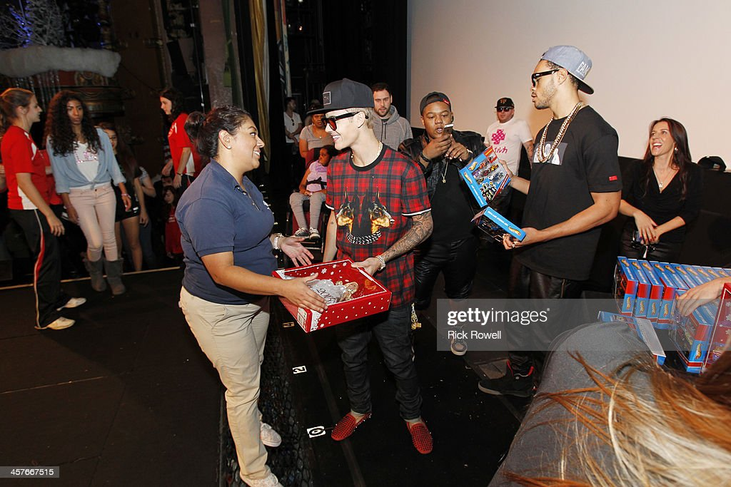 DISNEY Singersongwriter Justin Bieber joined Radio Disney Los Angeles and KABCTV to celebrate ABC7 and Southern California Firefighters' 21st annual...