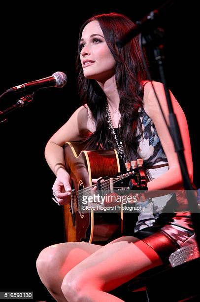 Singersongwriter Kacey Musgraves performs onstage at the Country Music Association Songwriters Series during the 2016 SXSW Music Film Interactive...