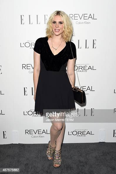 Singersongwriter Kate Nash attends ELLE's 21st Annual Women in Hollywood Celebration at the Four Seasons Hotel on October 20 2014 in Beverly Hills...