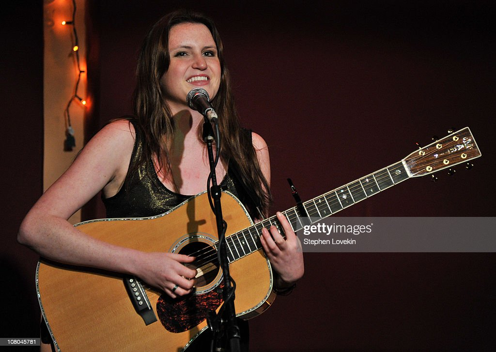 Singer Songwriter Katie Gavin Performs At The Living Room On January 14 2011 In