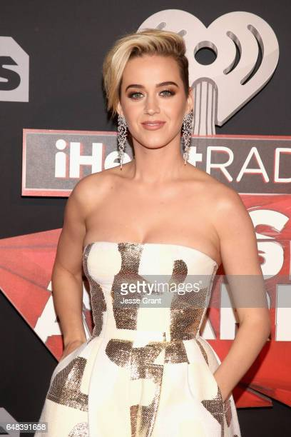 Singer/songwriter Katy Perry attends the 2017 iHeartRadio Music Awards which broadcast live on Turner's TBS TNT and truTV at The Forum on March 5...