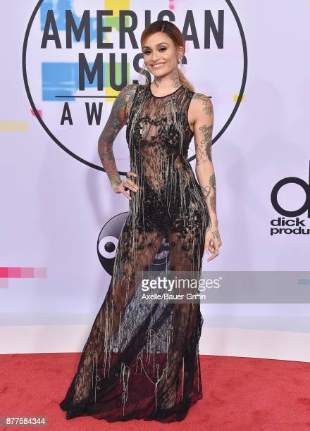 Singersongwriter Kehlani arrives at the 2017 American Music Awards at Microsoft Theater on November 19 2017 in Los Angeles California
