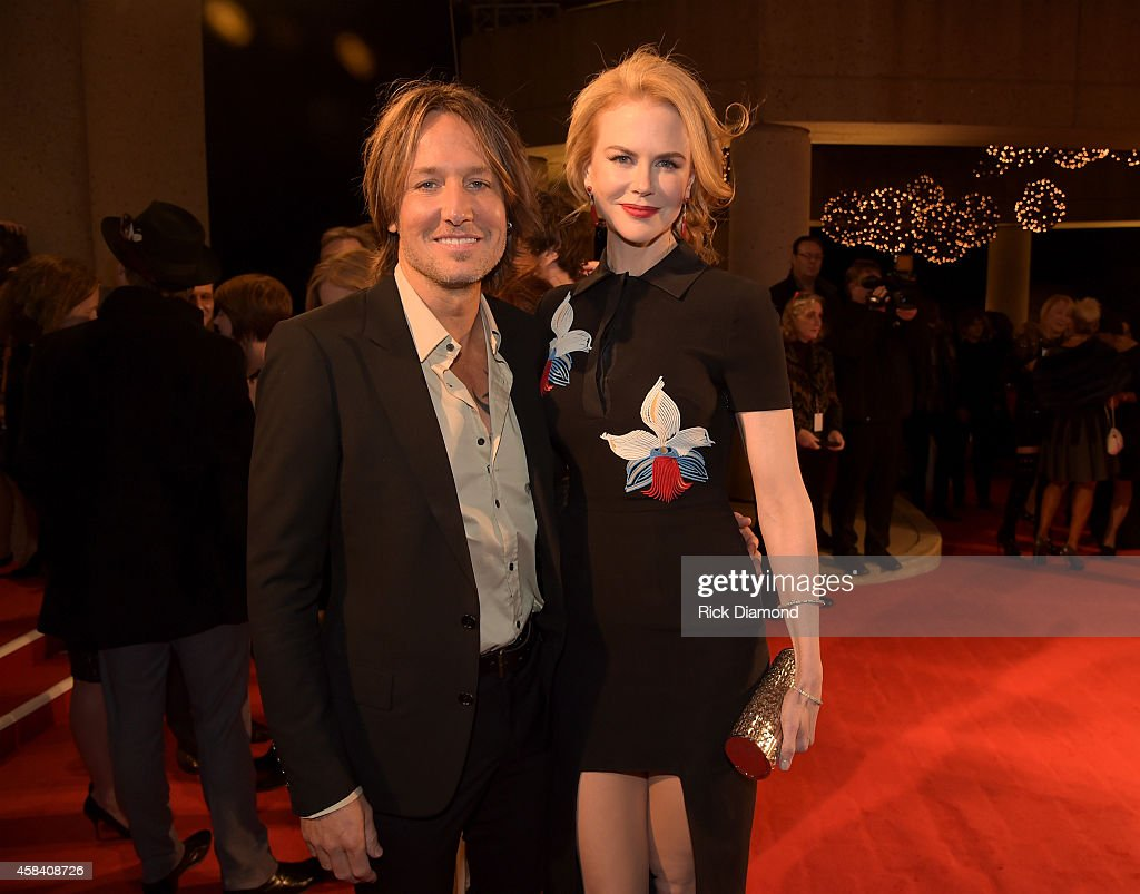Singer-songwriter Keith Urban and actress Nicole Kidman attend the BMI 2014 Country Awards at BMI on November 4, 2014 in Nashville, Tennessee.