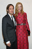 Singersongwriter Keith Urban and actress Nicole Kidman attend the Louis Vuitton Monogram Celebration at Museum of Modern Art on November 7 2014 in...