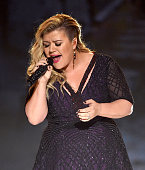 Singer/songwriter Kelly Clarkson performs onstage during the 2015 Billboard Music Awards at MGM Grand Garden Arena on May 17 2015 in Las Vegas Nevada