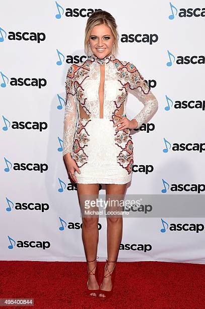 Singersongwriter Kelsea Ballerini attends the 53rd annual ASCAP Country Music awards at the Omni Hotel on November 2 2015 in Nashville Tennessee
