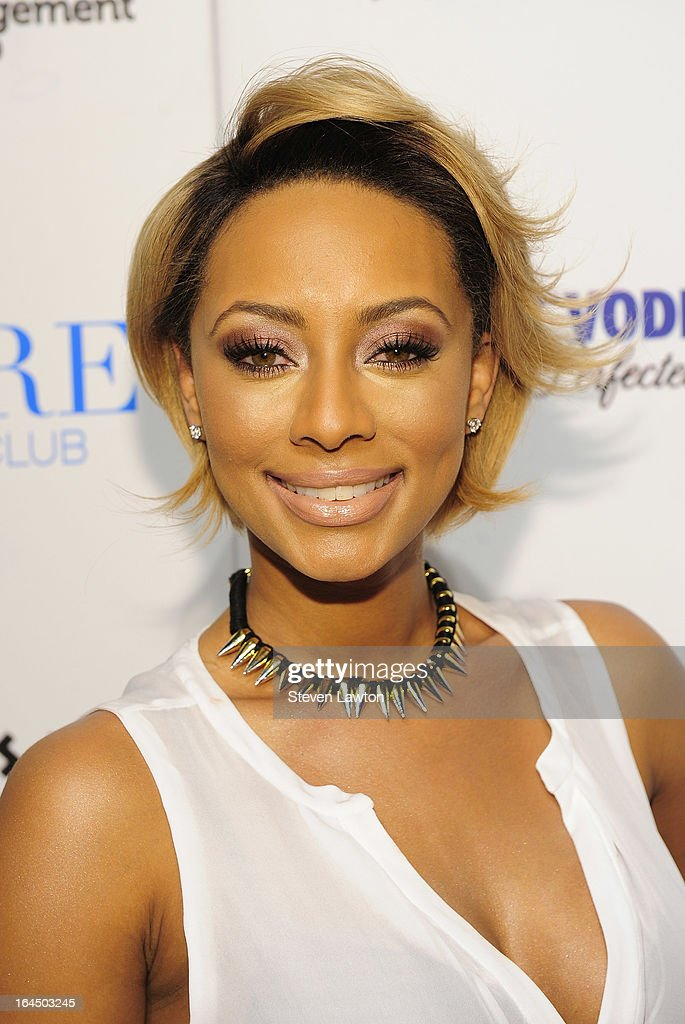 Singer/songwriter Keri Hilson arrives at the Pure Nightclub at Caesars Palace on March 23, 2013 in Las Vegas, Nevada.