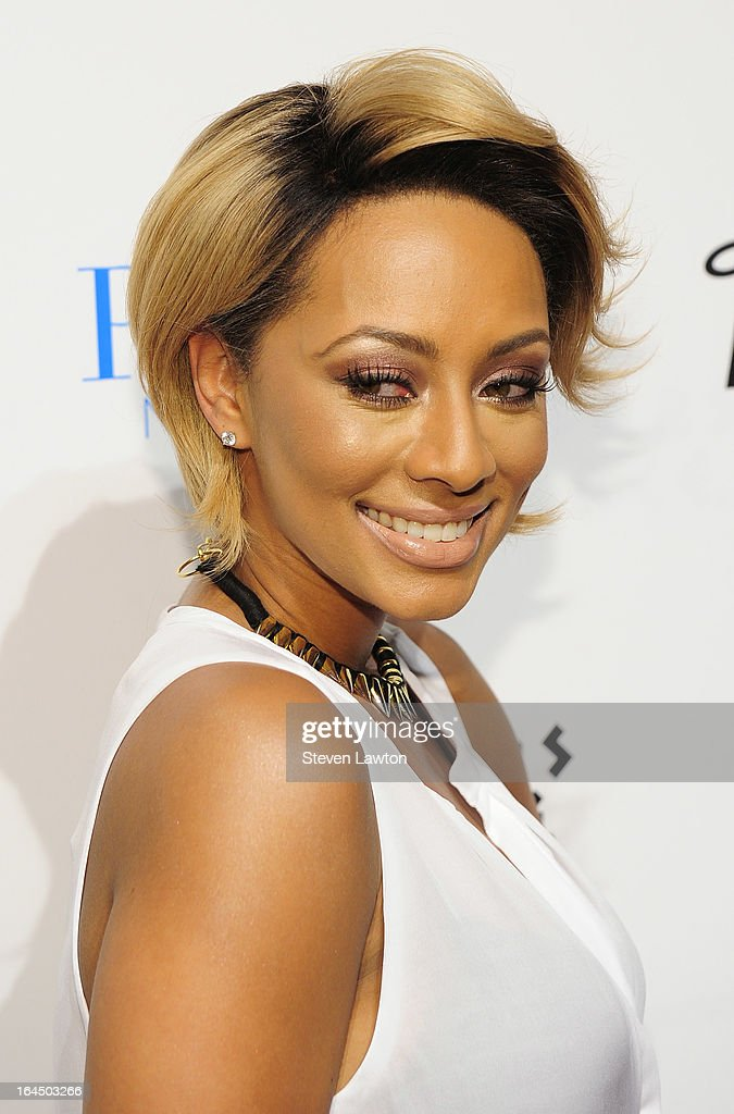 Singer/songwriter <a gi-track='captionPersonalityLinkClicked' href=/galleries/search?phrase=Keri+Hilson&family=editorial&specificpeople=4340776 ng-click='$event.stopPropagation()'>Keri Hilson</a> arrives at the Pure Nightclub at Caesars Palace on March 23, 2013 in Las Vegas, Nevada.
