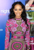 Singer/songwriter Keri Hilson attends the Pan African Film Arts Festival premiere of Screen Gems' 'About Last Night' at ArcLight Cinemas Cinerama...